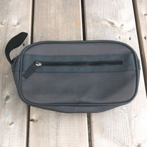 2 for $12 Versace Parfums Grey Travel Toiletry Bag